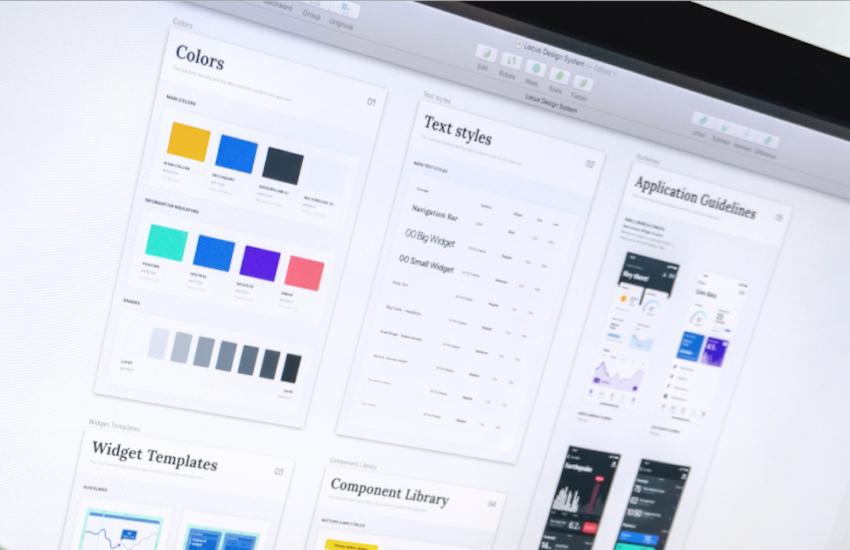 Mise en page et design d'interface