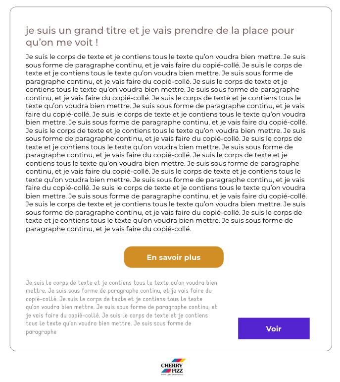 Mauvaise mise en page web - améliorer l'expérience de vos utilisateurs